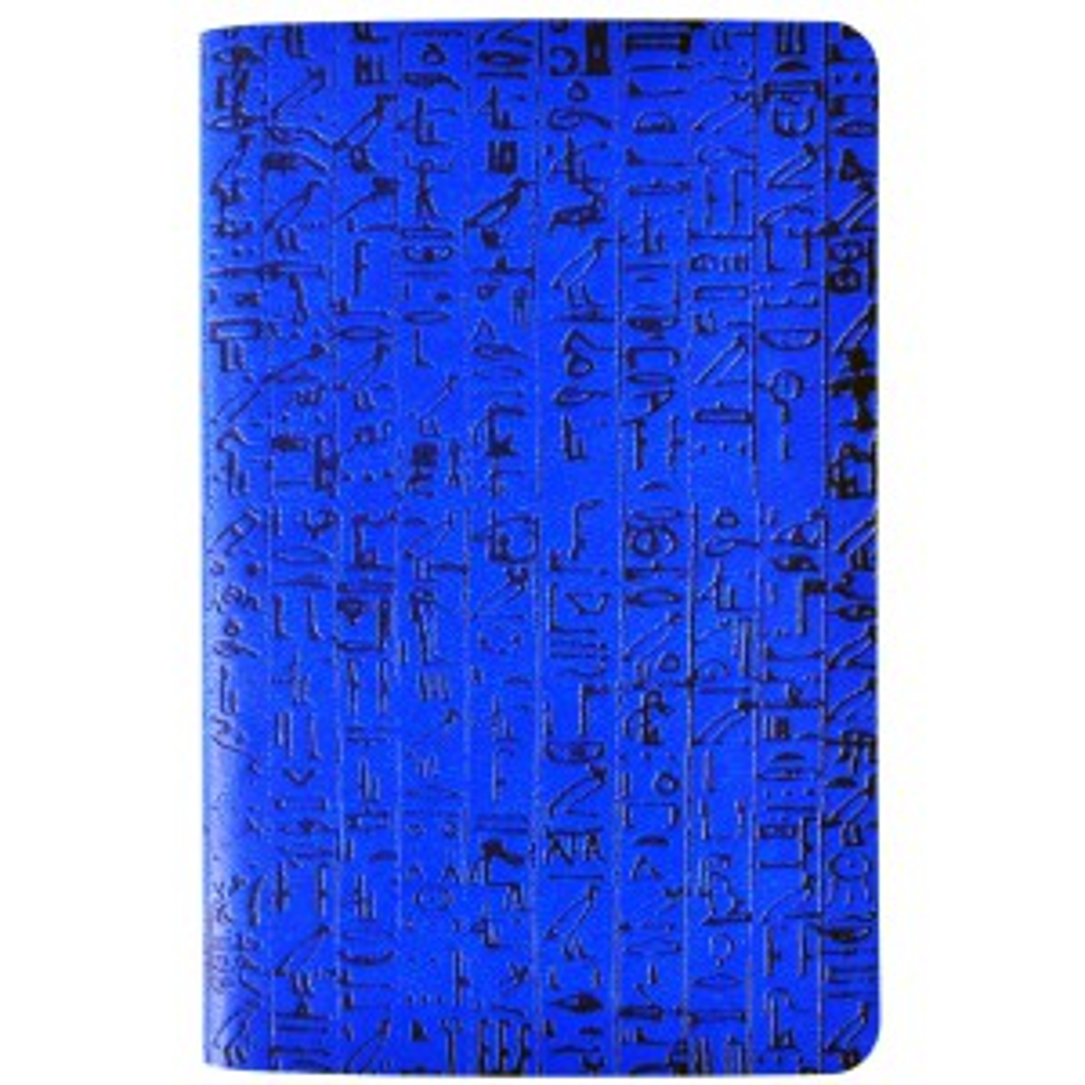 Blocco note Geroglifici - blu