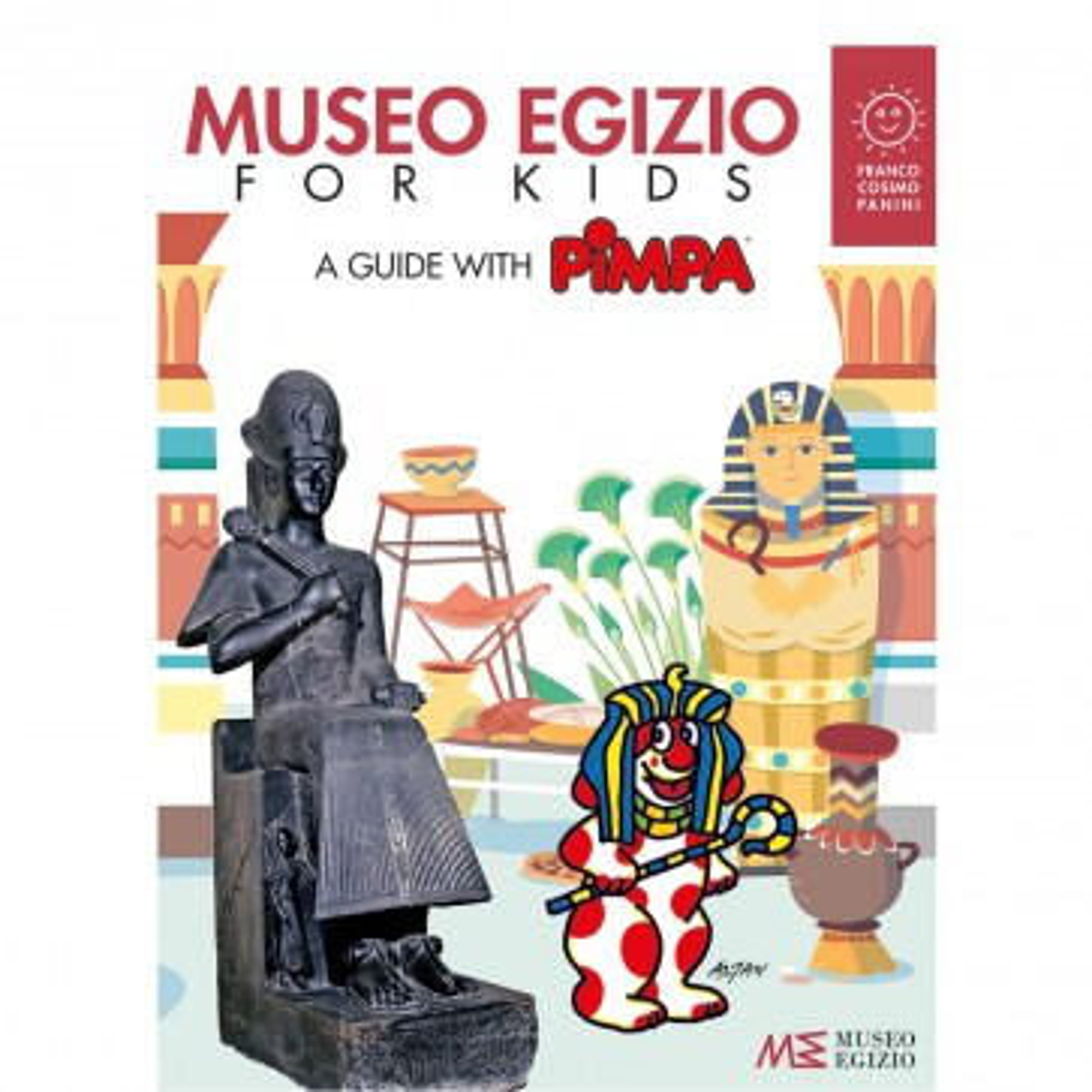 Museo Egizio for kids. A guide with Pimpa