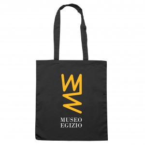 Shopper con logo giallo