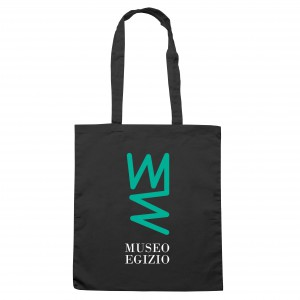 Shopper con logo verde